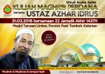 Poster Azhar Idrus